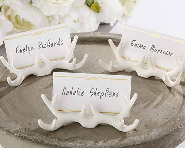 Antler Place Card Holders (Set of 12) - Rustic Edge