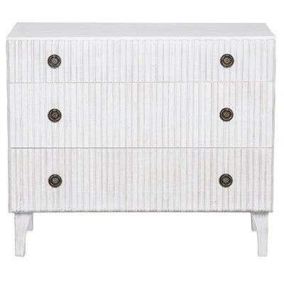 Martinus Mahogany 3 Drawer Dresser - 3 Finishes