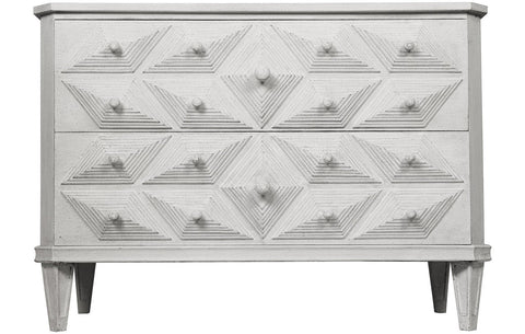 Henning Dresser White Weathered