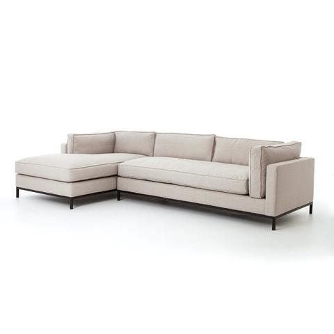 Bomani 2 Pc Sectional Left Arm Chaise - Rustic Edge