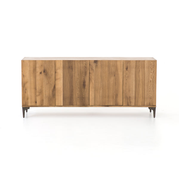 Cameron Sideboard - Light Oak - Rustic Edge