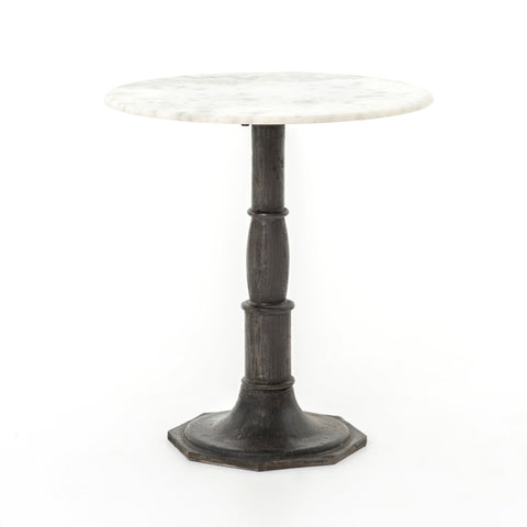 LISA SIDE TABLE, CARBON WASH