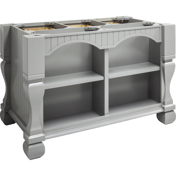 Kitchen Island - Tuscan Jeffrey Alexander Island Gray by hardware resources. - Rustic Edge - 6