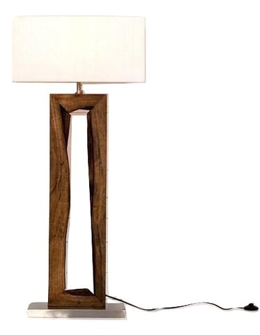 "Arend 55"" Floor Lamp - Rustic Edge"