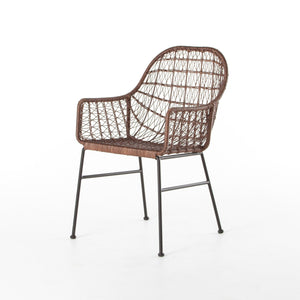Reda Outdoor Woven Chair - Rustic Edge