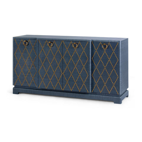 Bungalow 5 Janak Large Cabinet - Navy blue - - Rustic Edge