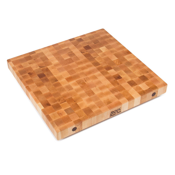 "John Boos Maple End Grain Butcher Block Island Tops 2-1/4"", 3"", 4"", or 7"" thick 24""-36"" wide"