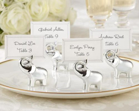 Lucky in Love Elephant Place Card Holders (set of 8)
