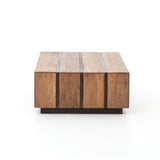"VENDELA SLAB TABLE 53"" - Intrustic home decor"