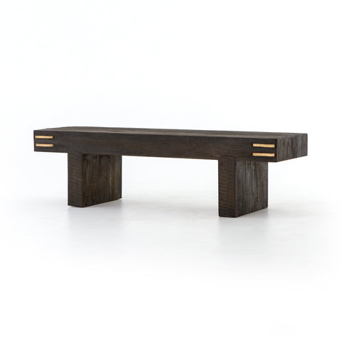 NALANA ACCENT BENCH, NATURAL PEROBA