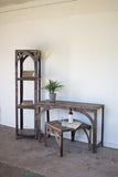 Kalalou Rustic Recycled Iron Console Table NGN1186