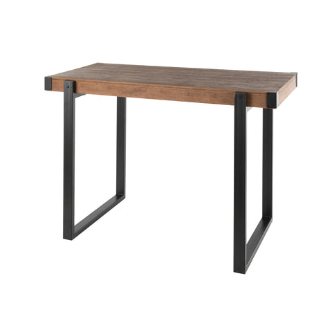 Industrial Counter Height Dining/Bar Table - Metal and Wood