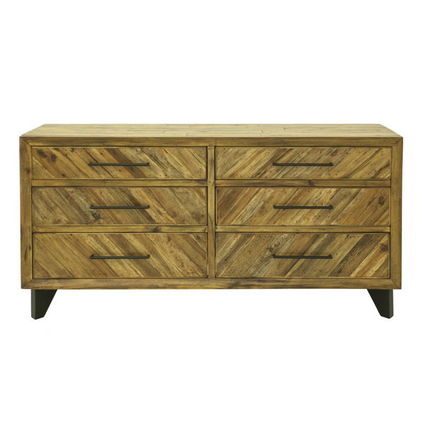 Jade 4 Drawer Low Dresser
