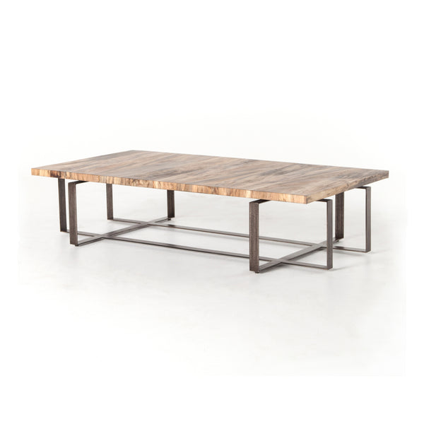 Bryan Coffee Table - Spalted Primavera - Rustic Edge