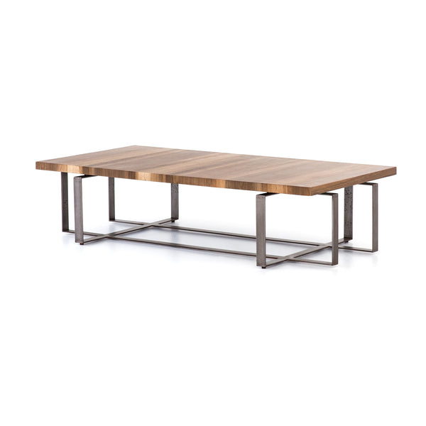 Bryan Coffee Table - Natural Yukas - Rustic Edge