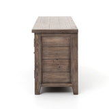 Bolade Media Console - Sun Dried Ash - Rustic Edge