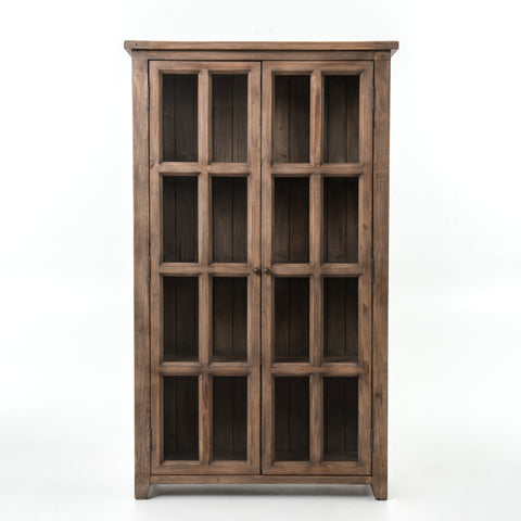 Bolade Display Hutch - Sun Dried Ash - Rustic Edge