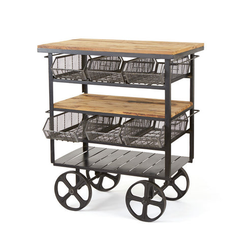 Autumn-Elle Designs Antonia Deli Kitchen Cart 500287