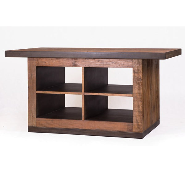 Arlo Kitchen Island - Rustic Edge