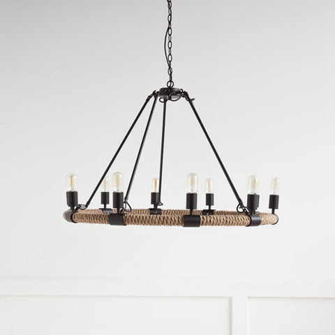 Autumn Elle Designs Auden Chandelier 963014 - Rustic Edge