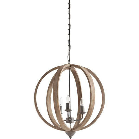 lighting - Autumn Elle Design Ayla Chandelier 01488 - Rustic Edge - 1