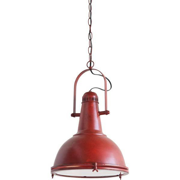 Autumn Elle Designs Red Barrington Pendant 79440 - Rustic Edge