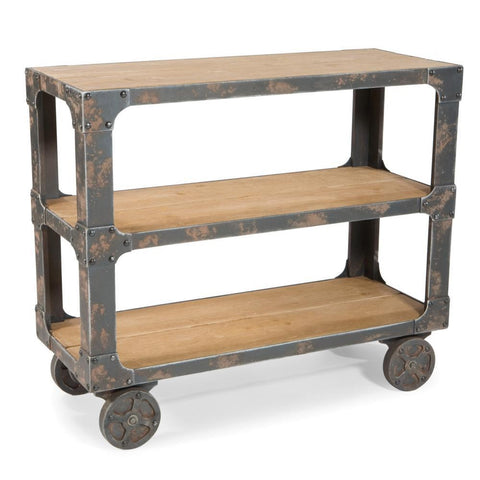 Autumn-Elle Designs Bayard Industrial Kitchen Cart M4848