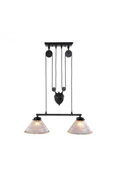lighting - Autumn Elle Designs Berke Ceiling Lamp ZU4784 - Rustic Edge - 1