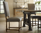 Townley Dining Chair Grey Linen - Intrustic home decor