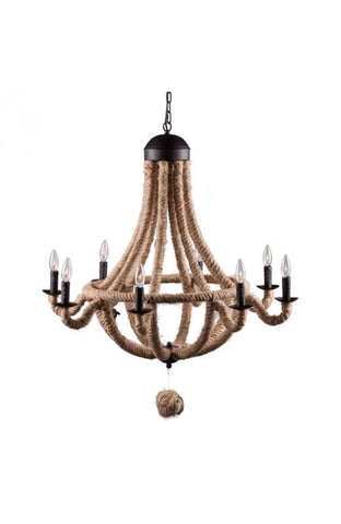 lighting - Autumn Elle Design Charly Ceiling Lamp/chandelier Z85647 - Rustic Edge - 1