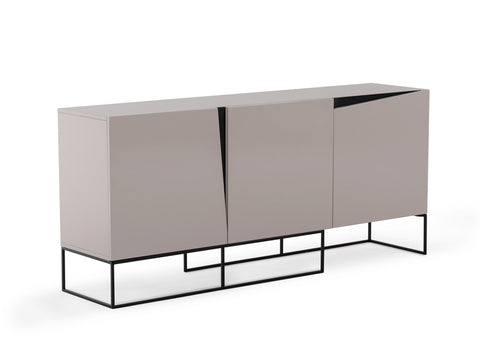 Modrest Hope Modern Grey Gloss Buffet by VIG Furniture