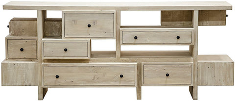 Dore 10 Drawer Reclaimed Sideboard
