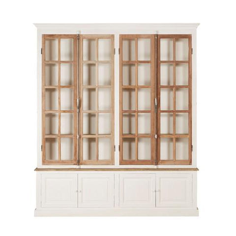 LISBET 4 DOOR BAKERY CABINET - Intrustic home decor
