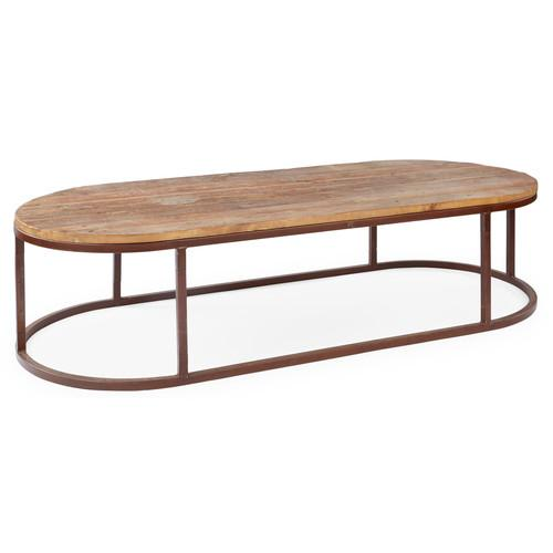 SCHYLAR OVAL COFFEE TABLE