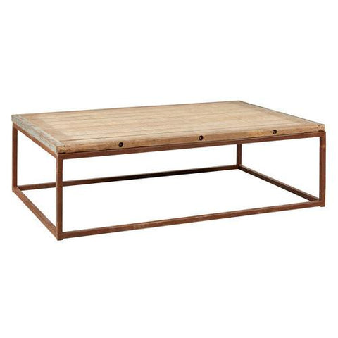 ESPEN BRICKMAKER COFFEE TABLE - Intrustic home decor