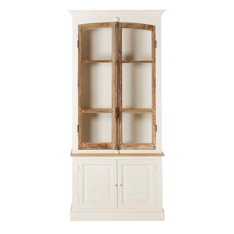 LISBET 2 DOOR BAKERY CABINET - Intrustic home decor