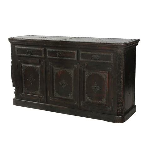 Morton 3-Door 3-Drawer Pillar Sideboard - Intrustic home decor