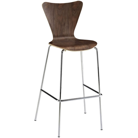 bar stools - Autumn Elle Designs Errol Bar Stool (Walnut) M70154 - Rustic Edge - 1