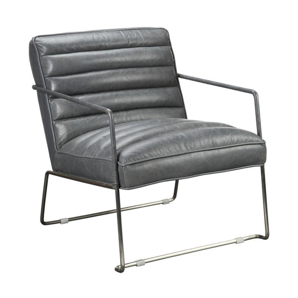Calder Club Chair Grey - Rustic Edge