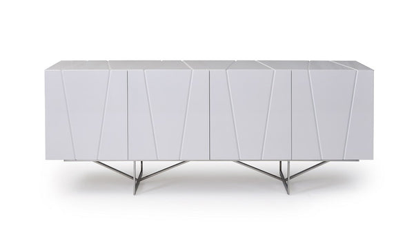 Modrest Chrysler Modern White High Gloss Buffet by VIG furniture