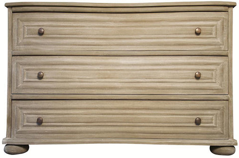 Arvada 3 Drawer Dresser - Weathered - Rustic Edge