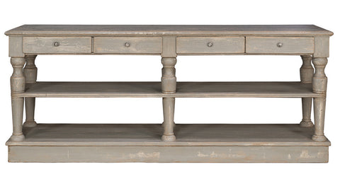 Autumn-Elle Designs Granville Kitchen Island/console S76130D - Rustic Edge