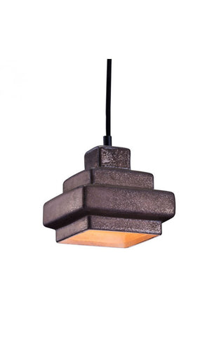 lighting - Autumn Elle Designs Harlow Ceiling Lamp ZO7403 - Rustic Edge - 1