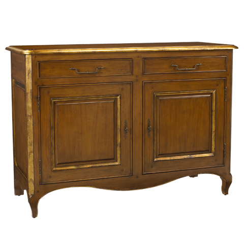 French Heritage Lamballe 2 Door Buffet/Sideboard   M-2121-404-LTCG-WOODTOP