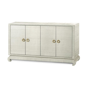 Bungalow 5 Meredith 4-Door Cabinet - available in 5 finishes - Rustic Edge