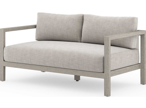 "Mysona 60"" Outdoor Sofa - Grey"