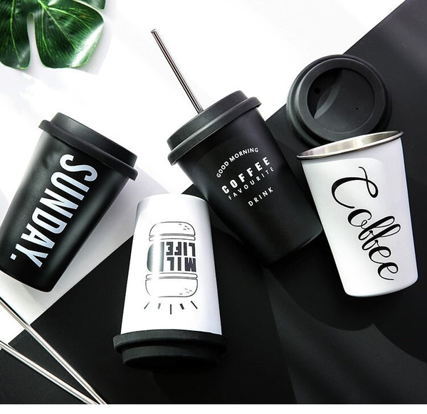 Stainless Steel Silicone To go/Travel Mugs