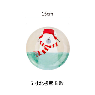 Winter Ceramic Plates