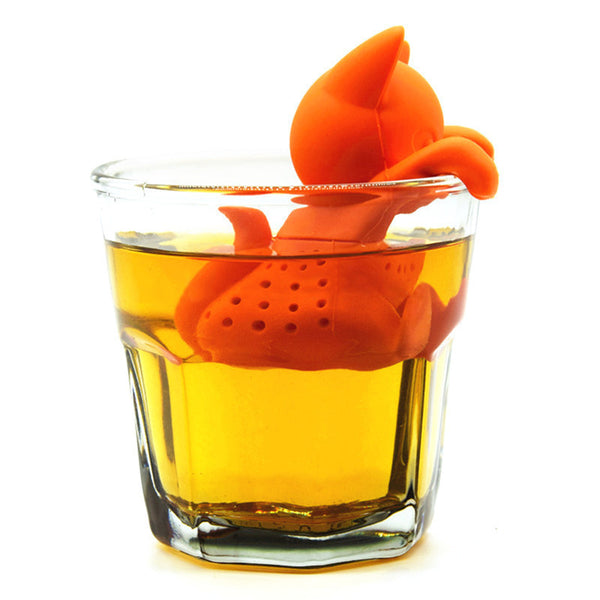 Cute Cartoon Cat Shaped Black Tea Infuser