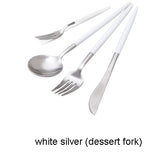 7 Colors Stainless Steel Cutlery Set - Rustic Edge